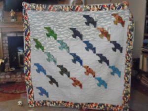 Wings of Love quilt front
